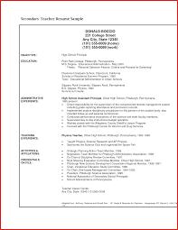 New Resume Education Cobble Usa