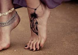 Dream Catcher Tattoo Foot Adorable Cute Dreamcatcher Tattoo On Foot For Girls TattooMagz