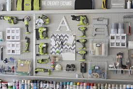 Anizing The Garage With Diy Pegboard Storage Wall