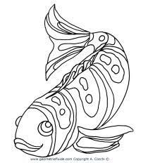 Disegni Da Colorare Mare Con Pesci Disegno Di Pesciolino Rosso