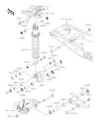 2015 kawasaki klx140 klx140aff suspension shock absorber parts best oem suspension shock absorber parts diagram for 2015 klx140 klx140aff motorcycles