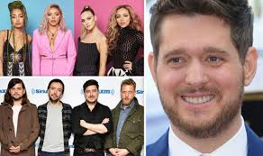 Little Mix Michael Buble Mumford And Sons In Album Chart