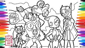 We've collected over 200 free printable disney coloring pages for the little ones to color all day long. Big Hero 6 Cartoon Coloring Pages Disney Coloring Pages Coloring Book For Kids Youtube