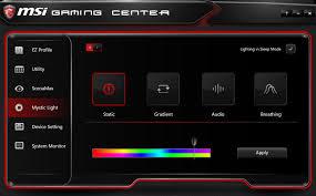 Msi Mystic Light Cpu Temperature Msi Aegis X Review Kitguru