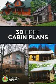 Cool Small Cabin Designs 27 Beautiful Diy Cabin Plans You Can Actually Build