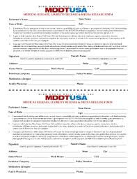 Fillable Online Release Liability Form Mddtusa Master - Miss Dance ...