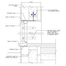Concrete Block Lintel Design Block Lintel Concrete Formwork Concrete Window Detail