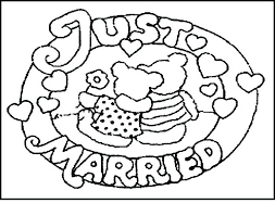 Personalized Wedding Coloring Books For Kids Wedding Coloring Pages