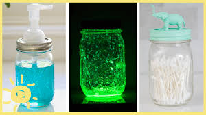 Decorative Things To Put In Glass Jars DIY 100 Easy Mason Jar Hacks YouTube 46