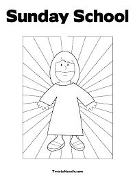 Preschool Religious Easter Coloring Pages Printable School Back To