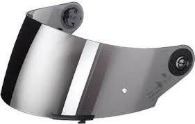 mirror visor. schuberth visor - sr2 silver mirror