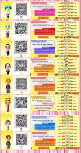 Tomodachi Life Qr Code Mii De Mangas Life Code