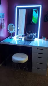 mirror lighting strips. D.I.Y Led Strip Lights For Vanity Mirror. Mirror Lighting Strips I