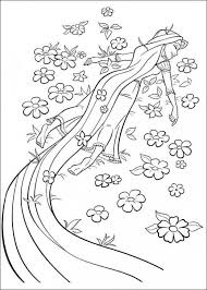 Small Picture Tangled Coloring Pages 14 Coloring Kids