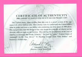 Certificate Of Authenticity Wording Printable Receipt Template
