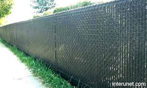 black chain link fence with privacy slats. Unique Link Chain Link Fence Screen Privacy Options Screening Fabric Sc    Inside Black Chain Link Fence With Privacy Slats D