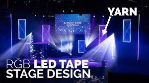 Led Panel Stage Lighting Led Tape Church Stage Design Yarn Led Panels Church