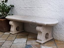 natural stone garden bench bench 5 by
