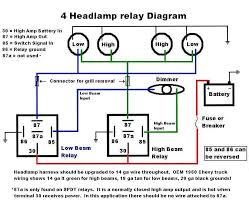headlight improvements '60 66 chevy gmc trucks headlight wiring repair at Headlight Circuit Diagram