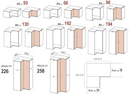 Armadio Angolare Per Ingresso : Le misure degli armadi dielle