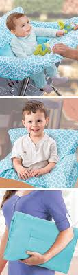 baby seat cover for use with ping carts or restaurant high chairs keeps little ones comfortable and germ free folds for easy storage
