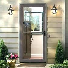 retractable screen doors front door with storm door front screen door front