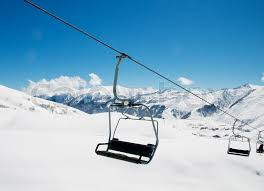 ingenious design ideas ski lift chair chairs on bright winter day stock photo colourbox