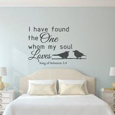 love wall decal quote song of solomon 3 4 bible verse scripture wall decal family wall art bedroom living room wedding gift home decor q146 on bible verses about love wall art with the 20 best bible verse scripture wall decals images on pinterest