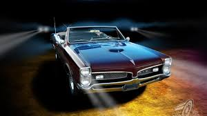 classic muscle car wallpaper. Pontiac GTO Classic Muscle Cars Wallpaper In Car
