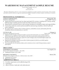 Sample Transportation Management Resume Supply Chain Manager Resume ...