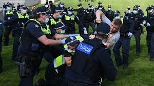 Petersburg have come to an end. Anti Lockdown Protesters Clash With The Police In Melbourne The New York Times