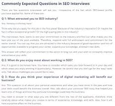 Good Interview Questions To Ask A Business Owner What Are The Most Important Asked Interview Advance Seo