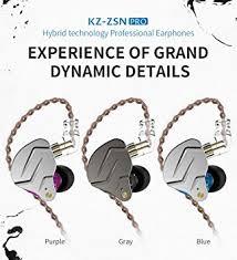 Ocamo <b>KZ ZSN pro Quad-core</b> Moving Double Circle Bass in-Ear ...