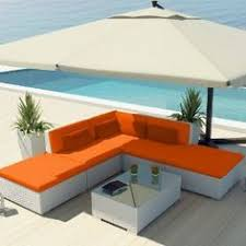 modern patio furniture. Uduka Outdoor Sectional Patio Modern Furniture White Wicker Sofa Set Porto  6 Orange All Weather Couch Modern Patio Furniture