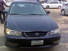 Toyota Corolla 2000 Model (registered) - Autos - Nigeria