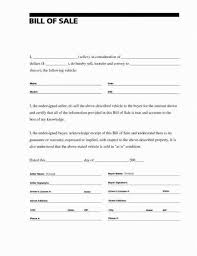 Simple Auto Bill Of Sale Form Auto Bill Of Sale Form Nc Vehicle