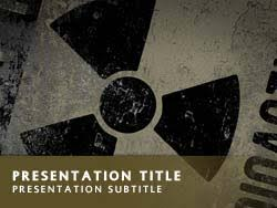 nuclear powerpoint template. Royalty Free Nuclear Power PowerPoint Template in Yellow
