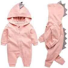 Newborn Baby Boys Girls Cartoon Dinosaur Hoodie ... - Amazon.com