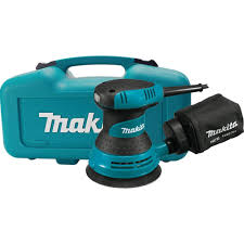 makita palm sander. makita 3 amp 5 in. corded palm grip random orbital sander with dust bag, hard case-bo5030k - the home depot 4
