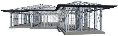 Steel Framed Houses X 1ar Steel Framing Stratco