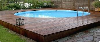 Square Above Ground Pool Deck Design Tips To Transform Your Pool