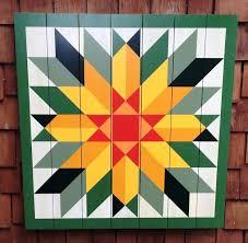 Best 25+ Barn quilts ideas on Pinterest | Barn quilt patterns ... & Sunflower Barn Quilt by Chela Adamdwight.com