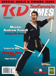 Taekwondo Player Diet Chart Master Andrew Fanelli Taekwondo Times