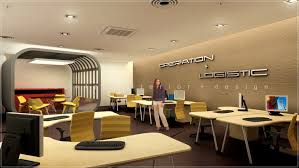 open office ceiling decoration idea. Marvelous Home Office Design Layout #0 - 3D Open With Feature  Meeting Area Kuala Open Office Ceiling Decoration Idea