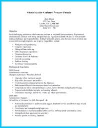 Resume Template For Entry Level Medical Administrative Assistant Resume Samples In Writing