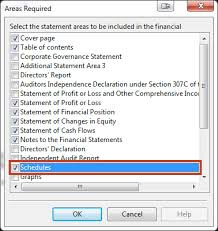 Statement Of Profit And Loss Insert A Detailed Profit Loss Statement Into The Financial Statements