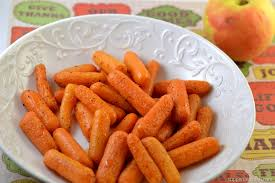 cooked baby carrots.  Carrots Roasted Baby Carrots With Apple Cider Glaze Intended Cooked H