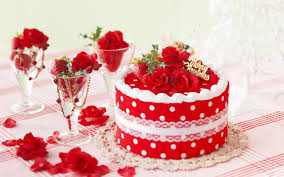 Strawberry Cake Hq Background Wallpaper 35445 Baltana