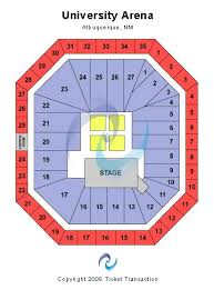 Unm Pit Seating Chart Popejoy Hall Seating Chart