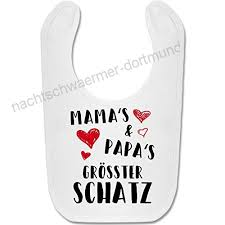 Shirtracer Sprüche Baby Mamas Und Papas Größter Schatz Baby Lätzchen